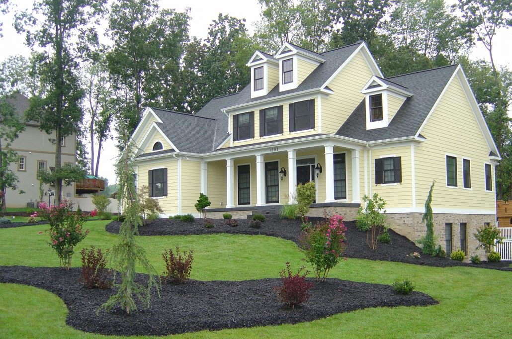 New construction landscape consultation shreckhise - New home construction ideas ...