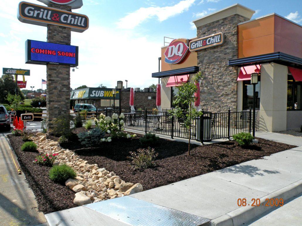 custom commercial landscape design